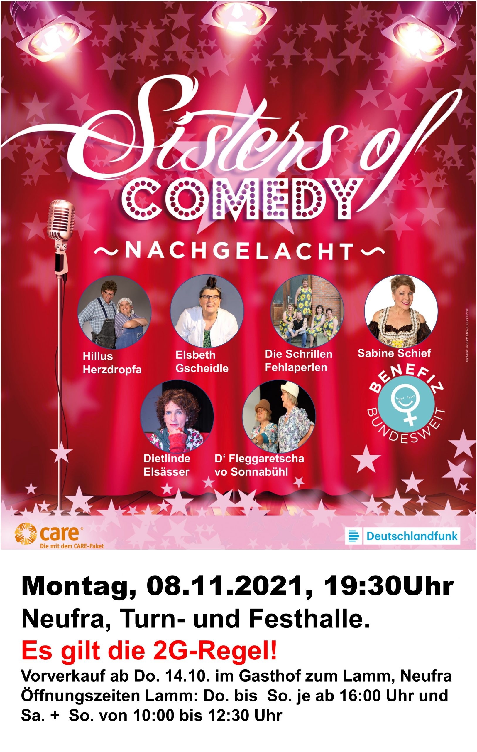 Sisters of Comedy in Neufra